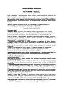 Aspermet 200 EC etykieta 1 pdf 212x300 - Aspermet-200-EC-etykieta (1)
