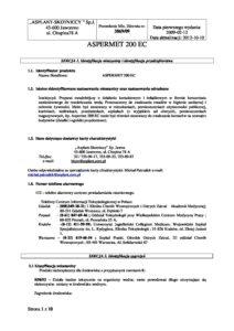 Aspermet 200 EC karta charakterystyki pdf 212x300 - Aspermet-200-EC-karta-charakterystyki