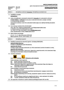 KOMAROPREN karta charakterystyki pdf 212x300 - KOMAROPREN-karta-charakterystyki